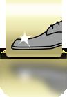 Aufhören wenn Schuh glänzt